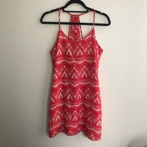 Under skies pink dress. Size Small